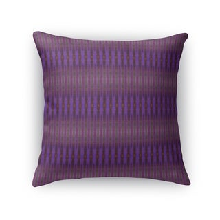 GRADIENT STRIPES PURPLE Indoor|Outdoor Pillow By Kavka Designs