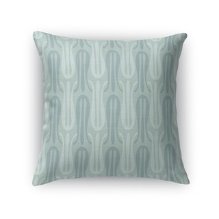 NARROW TULIPS MINT Indoor|Outdoor Pillow By Kavka Designs