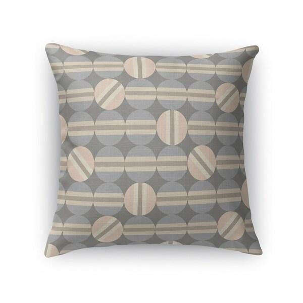HEMISPHERES BEIGE Indoor|Outdoor Pillow By Kavka Designs