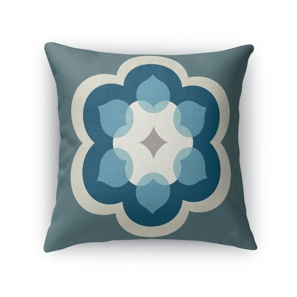 MODERN BLOOM FOREST Indoor|Outdoor Pillow By Kavka Designs