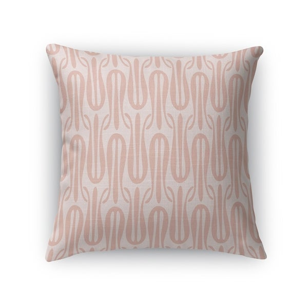 NARROW TULIPS BLUSH Indoor|Outdoor Pillow By Kavka Designs