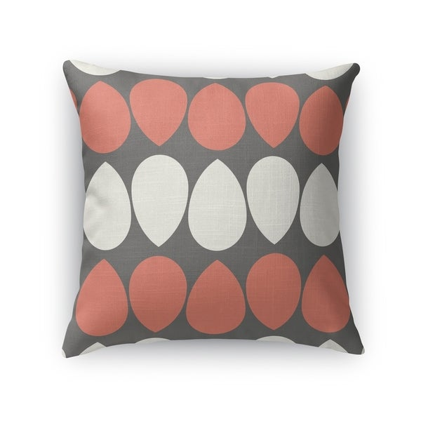 WILMA CORAL Indoor|Outdoor Pillow By Kavka Designs