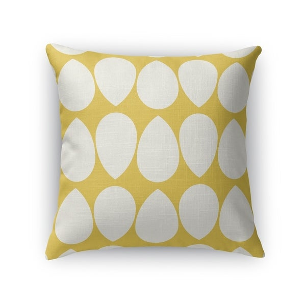 WILMA GOLD Indoor|Outdoor Pillow By Kavka Designs