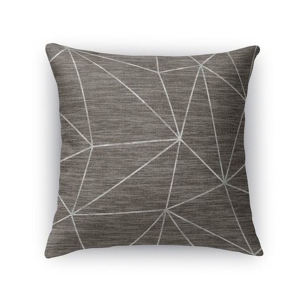 PRISM SILVER Indoor|Outdoor Pillow By Kavka Designs