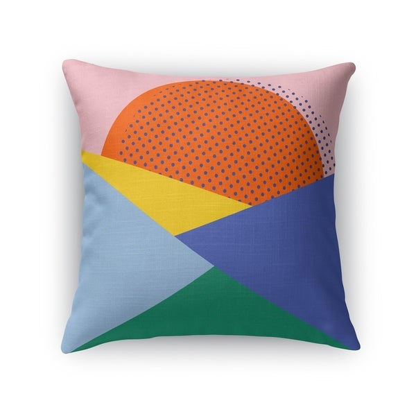 MONROE ORANGE Indoor|Outdoor Pillow By Kavka Designs