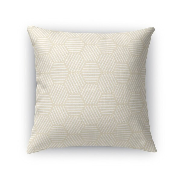ATHENA OATMEAL Accent Pillow By Kavka Designs
