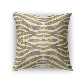 TIGER GOLD Indoor|Outdoor Pillow By Kavka Designs