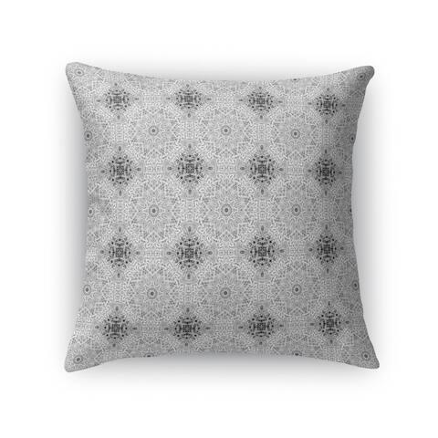 WOODCUT TILES Indoor-Outdoor Pillow By Kavka Designs