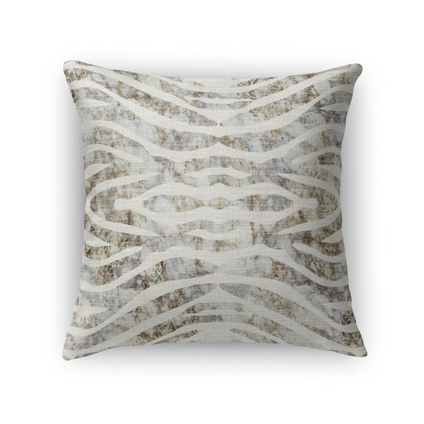 TIGER NEUTRAL Indoor Outdoor Pillow By Kavka Designs