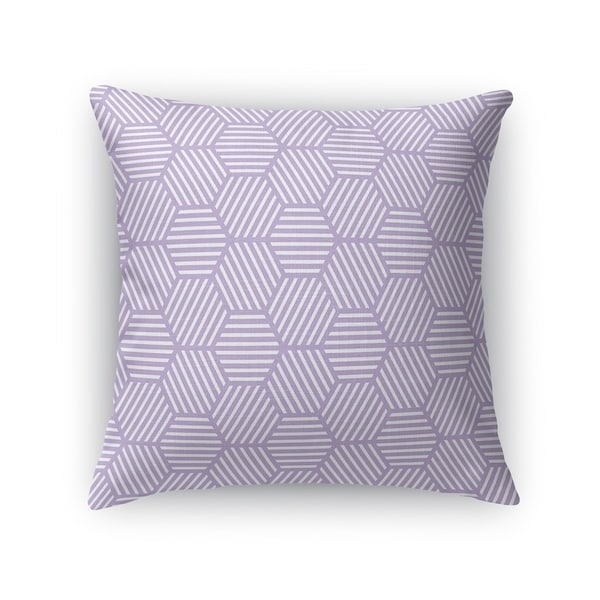 ATHENA PURPLE Accent Pillow By Kavka Designs