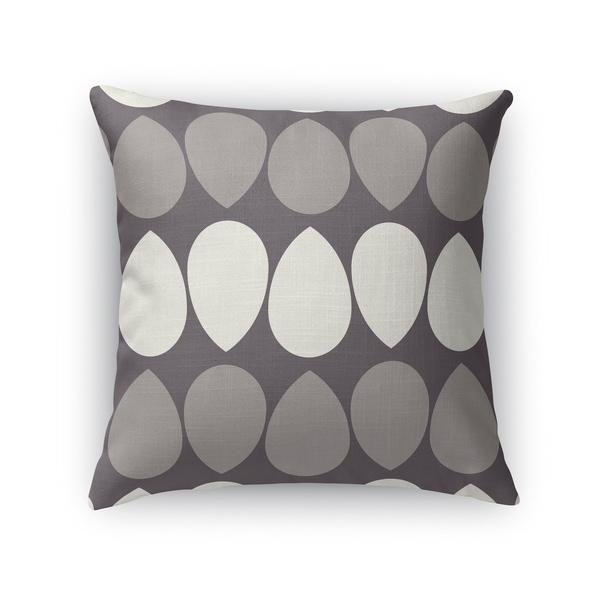 WILMA LIGHT ASH Indoor|Outdoor Pillow By Kavka Designs
