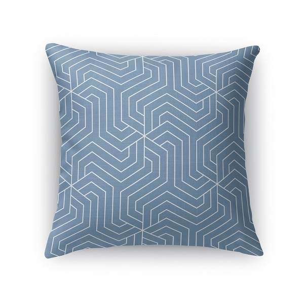 BRICKLE BLUE Accent Pillow By Kavka Designs