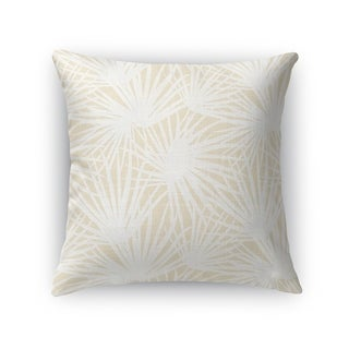 PALM BALM OATMEAL Accent Pillow By Kavka Designs