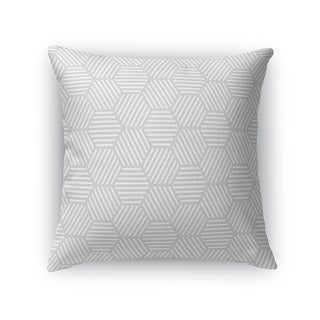 ATHENA GREY Accent Pillow By Kavka Designs