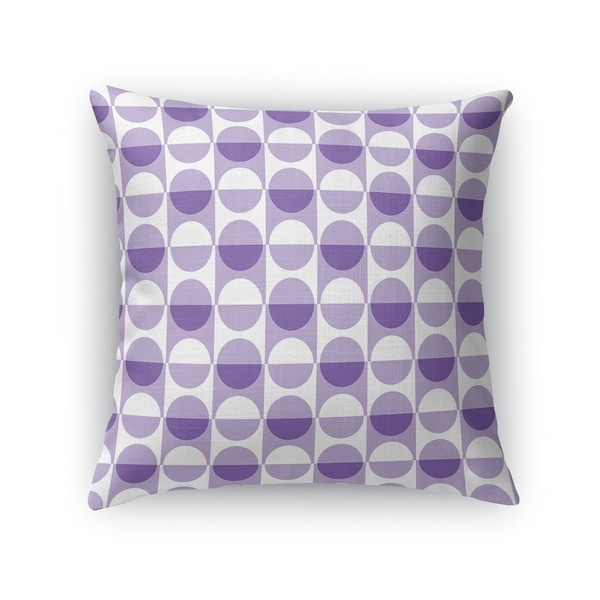 MOD SQUAD PURPLE Accent Pillow By Kavka Designs