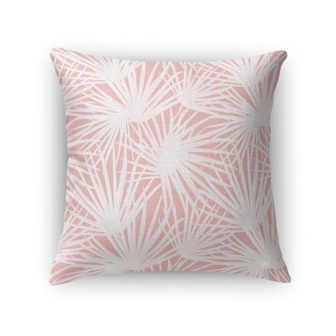 PALM BALM PINK Accent Pillow By Kavka Designs