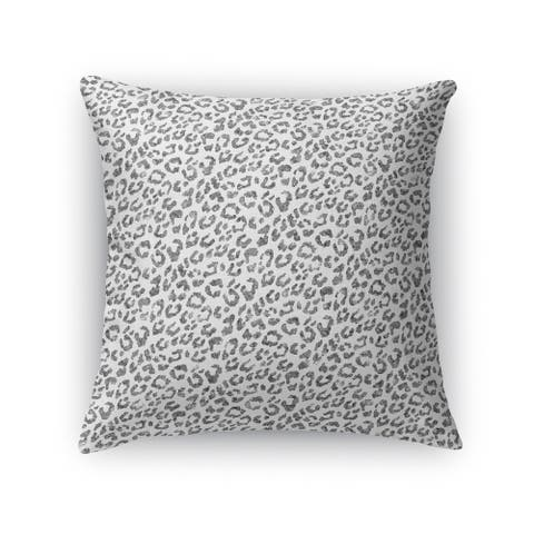 LIGHT LEOPARD Indoor Outdoor Pillow By Kavka Designs