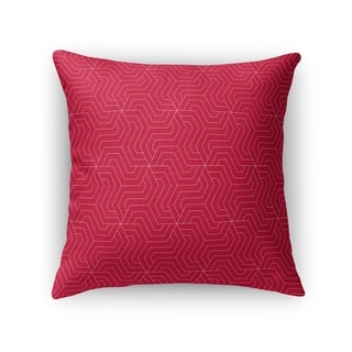 ZEUS RED Accent Pillow By Kavka Designs