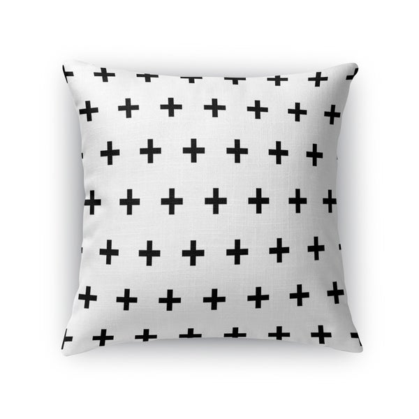 CRISS CROSS WHITE Accent Pillow By Kavka Designs