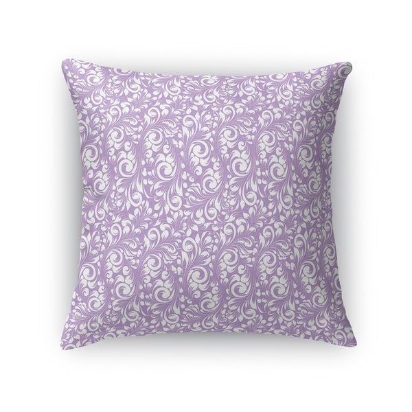 PLUMERIA LAVENDER Accent Pillow By Kavka Designs