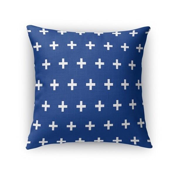 CRISS CROSS BLUE Accent Pillow By Kavka Designs