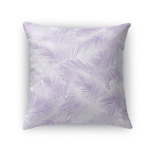 PALM CHEER PURPLE Accent Pillow By Kavka Designs