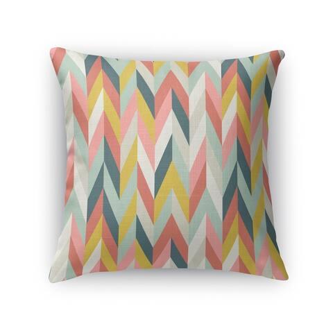 AARON CORAL Indoor Outdoor Pillow by Kavka Designs