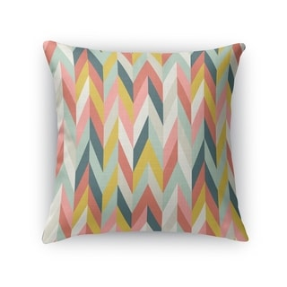 AARON CORAL Indoor|Outdoor Pillow By Kavka Designs