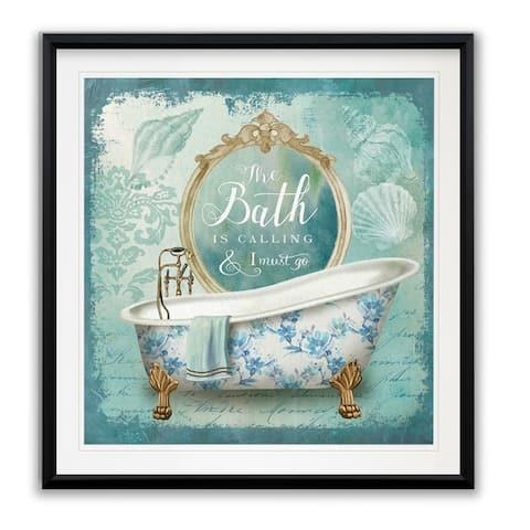 Mirror Bath II -Framed Giclee Print