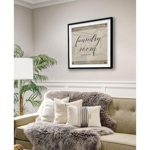 Laundry Room -Framed Giclee Print