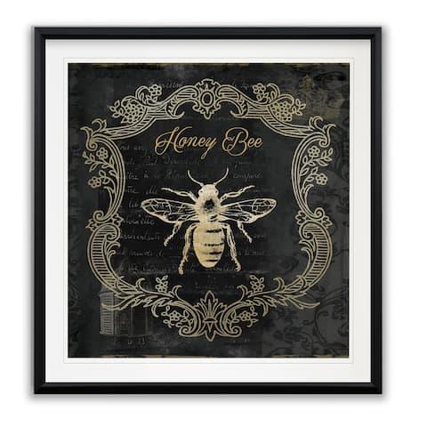 Royal Honey Bee II -Framed Giclee Print