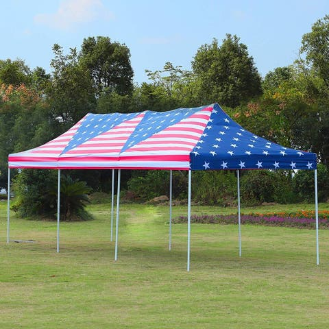 Outsunny 29' x 10' Pop Up Canopy Party Wedding Event Tent