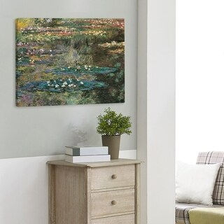 Claude Monet Water Lily Pond at Giverny Gallery-Wrapped Canvas