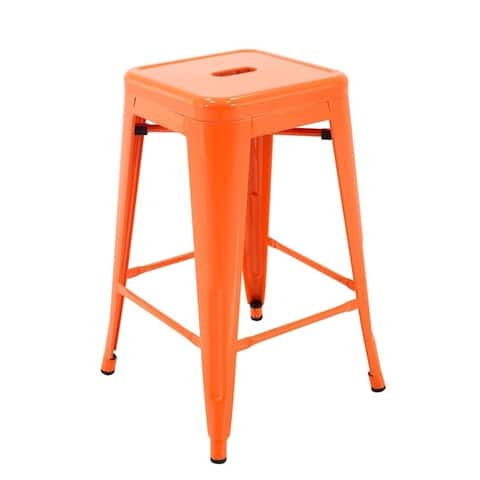 Carbon Loft Aramis Stackable 24-inch Metal Counter Stool