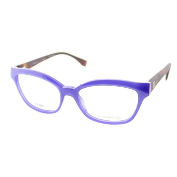Shop Fendi FF 0046 MHW Blue Frame 52mm Women's Eyeglasses - Free