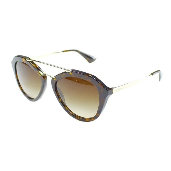 0eecf3f575c4 Prada Cinema PR 12QS 2AU6S1 Womens Havana Frame Brown Gradient Lens  Sunglasses