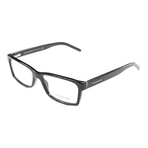 Burberry BE 2108 3001 Unisex Black Plastic Frame 54mm Eyeglasses