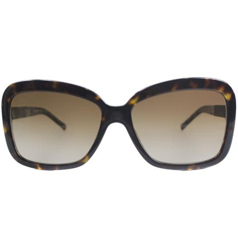 c2f3ef16d495 Burberry BE 4173 300213 Womens Havana Frame Brown Gradient Lens Sunglasses
