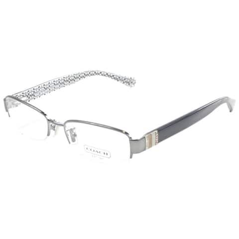 Coach HC 5027B 9081 Women's Silver Frame 52-millimeter Eyeglasses
