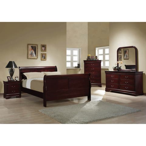 Hilltop 3-piece Sleigh Bedroom Set with Chest