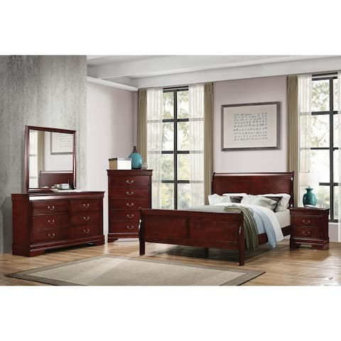 Hilltop 3-piece Sleigh Bedroom Set with Dresser