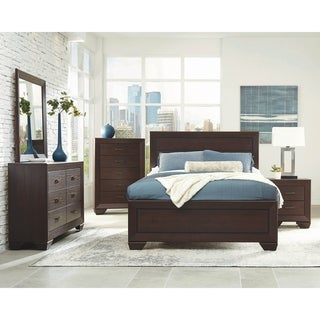 Ridgeview Dark Cocoa 6-piece Storage Bedroom Set