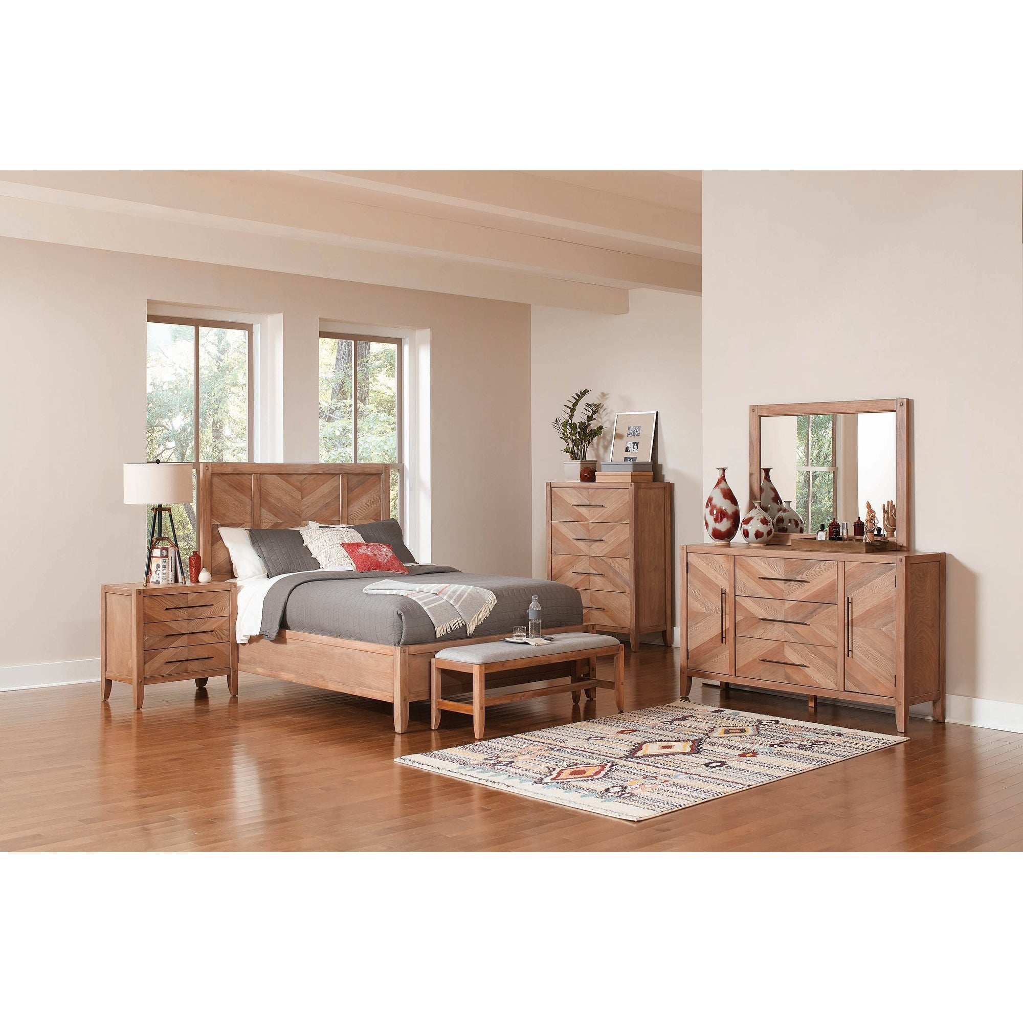 Shop Pensacola White Washed Natural 5 Piece Bedroom Set With 2 Nightstands On Sale Overstock 28254659,United Airlines Car Seat