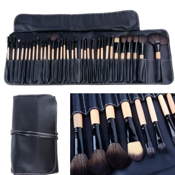 32pcs Makeup Brushes Cosmetic Tool Set Collection with Bag. Opens flyout.