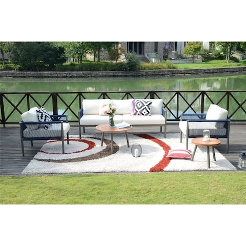5-piece Outdoor Woven Rope Sofa Set by Havenside Home