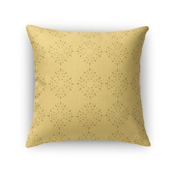 BRILLAR YELLOW Indoor|Outdoor Pillow By Kavka Designs