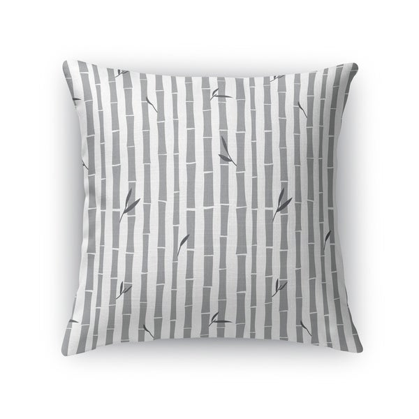 BAMBOO GREY Indoor|Outdoor Pillow By Kavka Designs