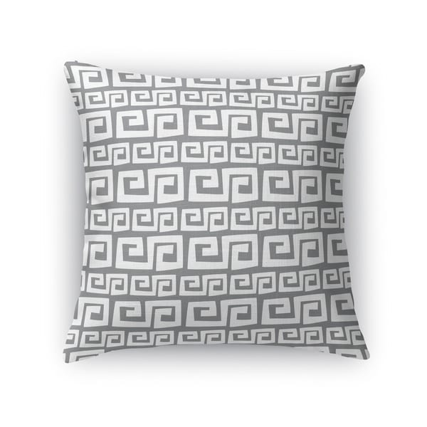 DYNASTY GREY Indoor|Outdoor Pillow By Kavka Designs