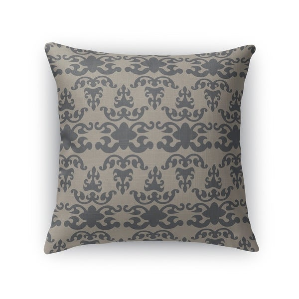 WAT CHARCOAL Indoor|Outdoor Pillow By Kavka Designs