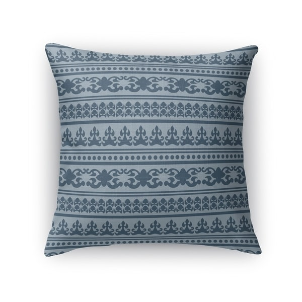 ANGKOR BLUE Indoor Outdoor Pillow By Kavka Designs